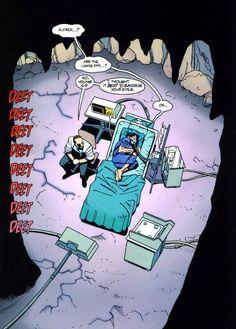 Tim Drake & Alfred - Batman Chronicles poor Tim was sick Nightwing, Batgirl, I Am Batman, Batman Robin, Marvel Dc Comics, Batman Arkham, Batman Art, Arkham Knight, Jason Todd