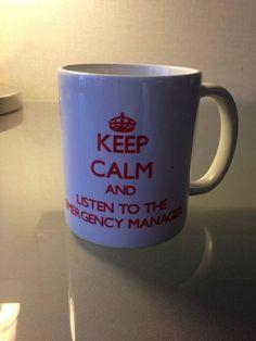Emergency Management, Mugs, Tableware, Dinnerware, Tumblers, Tablewares, Mug, Dishes, Place Settings