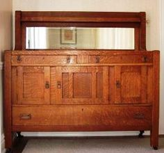 Fabulous Mission Style Sideboard