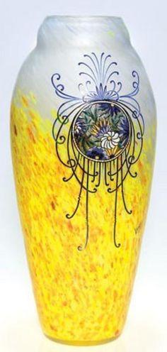 glass, France, A Legras [Cameo glass]Signed circa 1901-1903