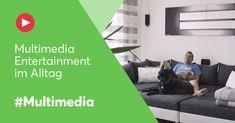 So sieht Multimedia Entertainment im Alltag aus! #loxone #multimedia #entertainment #tagesablauf #smarthome Smart Home, Multimedia, Entertainment, Blog, Smart House, Houses, Home Theater, Entertaining, Mood