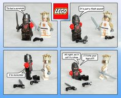 LEGO Monty Python and the Holy Grail