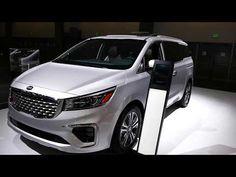 New 2020 Kia Sedona Minivan Exterior Interior Tour 2019 La Auto Show Los Angeles Ca Youtube Kia Sedona Automotive Future Car