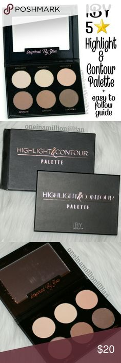 IBY Highlight & Contour Palette New in Box - Never Used  Full Sz & Authentic  The IBY Beauty Highlight & Contour Palette comes with 6 versatile shades that have a highly pigmented powder formula, making it super blendable so it won't create any harsh lines. It also includes an easy-to-follow makeup guide to achieve your most natural contoured look.  Check my page for more items #oneinamillionjillian IBY Makeup
