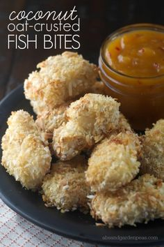 30 Minute Recipe: Coconut Oat Crusted Fish Bites