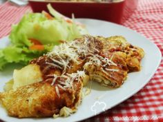 Brisando na Cozinha: Panqueca com massa de arroz