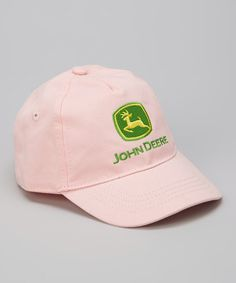 Take a look at this Pink Branded Baseball Cap by John Deere on #zulily today!