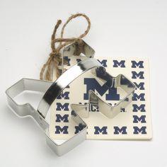 University of Michigan Block ''M'' Cookie