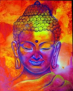 Buddha Painting Arts to Essence Your Environment with Peace: For centuries, Lord Buddha paintings have been considered as a symbol of bills, prosperity, and Buddha Face, Buddha Zen, Buddha Buddhism, Buddha Artwork, Buddha Painting, Buddhist Meditation, Buddhist Art, Meditation Music, Buddhism