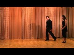 Argentine Tango walks with detailed breakdown of technique, posture, and balance