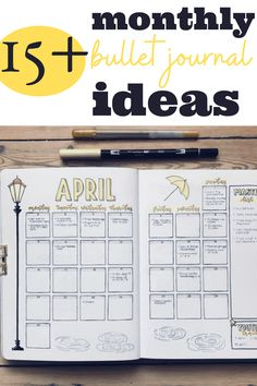 All the bullet journal inspiration you could ever want! Seriously, if you are looking for some gorgeous monthly themes for your bullet journal then you need to click here!