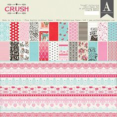 Authentique Crush 12x12 Valentine Paper Pad ** Find out more about the great product at the image link.Note:It is affiliate link to Amazon.