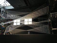 Gabriel Calatrava Creates Interactive String Installation for the 92Y Music Festival in New York