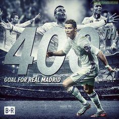 Cristiano Ronaldo has scored his 400th goal for Real Madrid!👏
