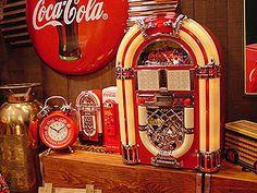 コカ・コーラ ジュークボックス 時計
