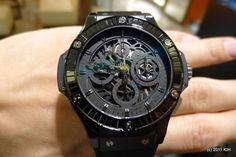 Hublot watches are sick designs!!!