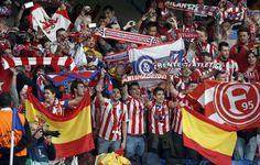 At Madrid finalista de la Champions league. Se verá en la final con su eterno rival, el Real Madrid, en Lisboa