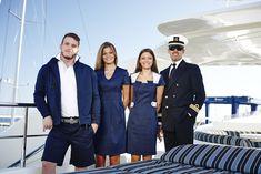 Yacht crew in uniform | ©JIT Italia