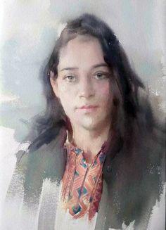 Liu Yi, China Xinjiang girl