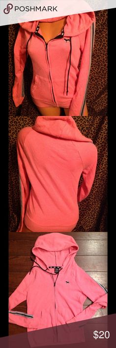 Victoria Secret Jacket XS! Victoria Secret jacket size xsmall has a minor stain on the front from the wash as shown in last picture other then that it's in good condition!! PINK Victoria's Secret Jackets & Coats