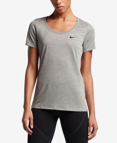 Nike Dry Legend Scoop Neck Training Top - White XL