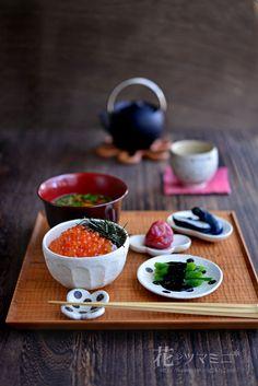 いくら丼 - Salmon roe rice