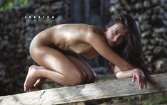 Jessica Clements (American) (social media) by David Bellemere (nude)