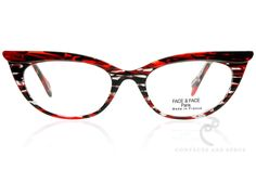 b68f3c8cbd CATS MEOW Cat-Eye Glasses Frame In Black For Women - Vint   York Eyewear