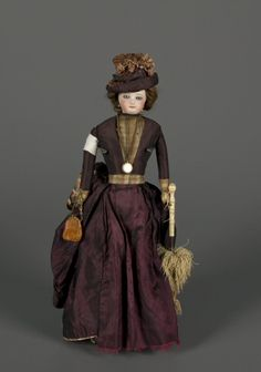 77.6569: French Fashion Doll   doll   Fashion Dolls   Dolls   National Museum of Play Online Collections   The Strong