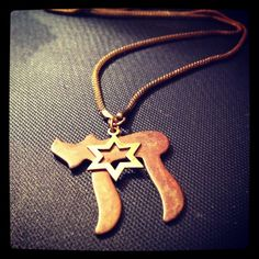 Judaica Necklace  Chanukah Hanukkah Chai Star of by GlowsShop, $28.00