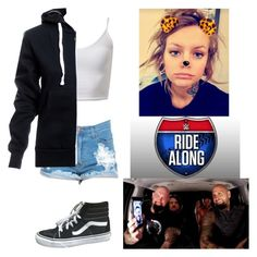 """""""Airica Monroe joining Gallows & Anderson on Ride Along for a Club Reunion"""" by atomic-blaster ❤ liked on Polyvore featuring Vans"""
