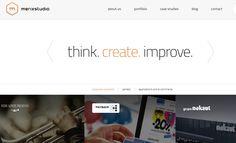 creative portfolio websites - Google Search