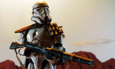The Sandtrooper Premium Format Figure is available at Sideshow.com for fans of Star Wars A New Hope Episode IV and stormtroopers.