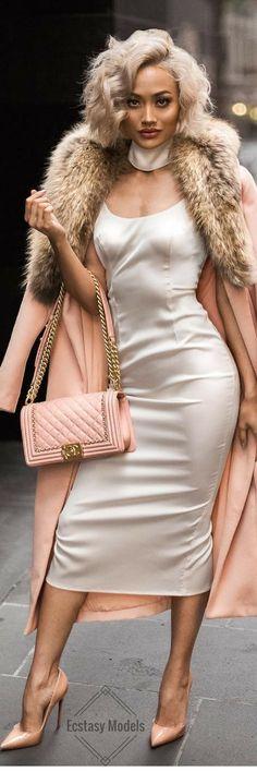 Slip Dress // Dress by @abyssbyabby // Fashion Look by Micah Gianneli