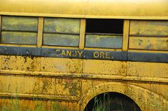 Old Canby School Bus, Canby, Oregon