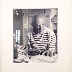 Pablo Picasso. Photo by Robert Doisneau. 1952