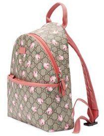 0d3d2619d9f6 Gucci Girl s GG Flowers Backpack Girls Bags