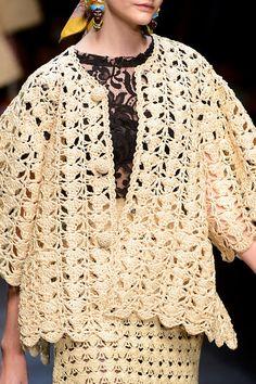 Dolce & Gabbana Spring/Summer 2013.