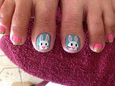 Easter nails design @ Tina Nails & Spa Easter Nail Designs, Easter Nail Art, Happy Nails, Nail Spa, Nails Design, Girl Stuff, Inspiration, Biblical Inspiration, Inspirational