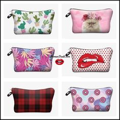 Makeup Bags, Cosmetic Bag, Diaper Bag, Printed, Cute, Stuff To Buy, Makeup Pouch, Make Up Bags, Diaper Bags