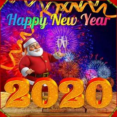 Happy New Year 2020 - Megaport Media Share Pictures, Animated Gifs, Public Holidays, Happy New Year 2020, Evo, Christmas Ornaments, Halloween, Holiday Decor, Projects
