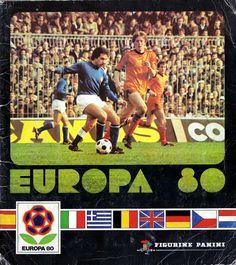 The Football Attic: Panini: Europa 80