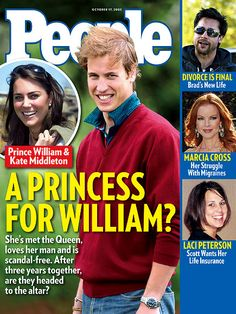 Old people magazine cover from love it! prince william and kate, william Kate Middleton Prince William, Prince William And Catherine, William Kate, Quotes Distance, Le Divorce, Princess Diana Family, Princess Charlotte, Isabel Ii, After Life