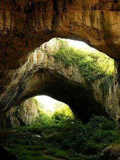 Natural land bridges