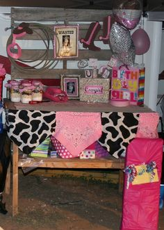 """Photo 1 of 19: Western/Country Cowgirl / Birthday """"Rhinestone Cowgirl Birthday Party""""   Catch My Party"""