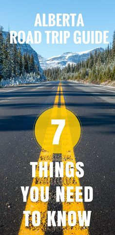 As part of our #motherofallroadtrips we were excited to include a 2-week road trip around Alberta, Canada. We soon discovered our lack of preparation for a few important factors. So before you take that jaw-dropping, gorgeous road trip around Alberta, make sure you read our essential road trip guide.