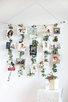 Trendy Ideas for diy art display panels Diy Christmas Cards, Christmas Crafts, Christmas Decorations, Holiday Cards, Christmas Ideas, Christmas Pictures, Wedding Decorations, Christmas Wood, Wall Decorations