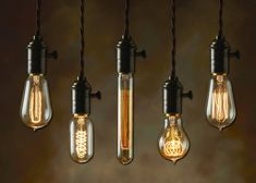 These rustic industrial-style Edison bulbs are all the rage right now! They range in price from $7.99 to $9.99.