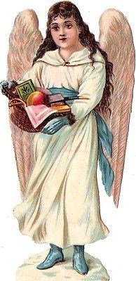 Glanzbilder - Victorian Die Cut - Victorian Scrap - Tube Victorienne - Glansbilleder - Plaatjes : Engel erneut