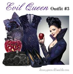 """""""Evil Queen"""" by disney-villains ❤ liked on Polyvore featuring Matthew Williamson and Lulu Townsend"""